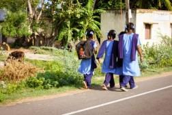 In cammino verso la scuola